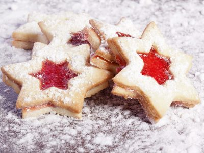 Jammy Star Cookies